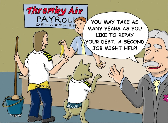 Pilot Debt Repayment - You May Take As Many Years As You Need