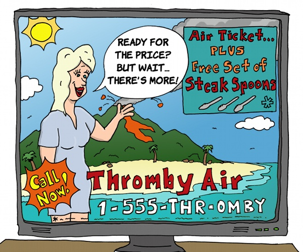 Thromby Air - Airline TV Advertisement