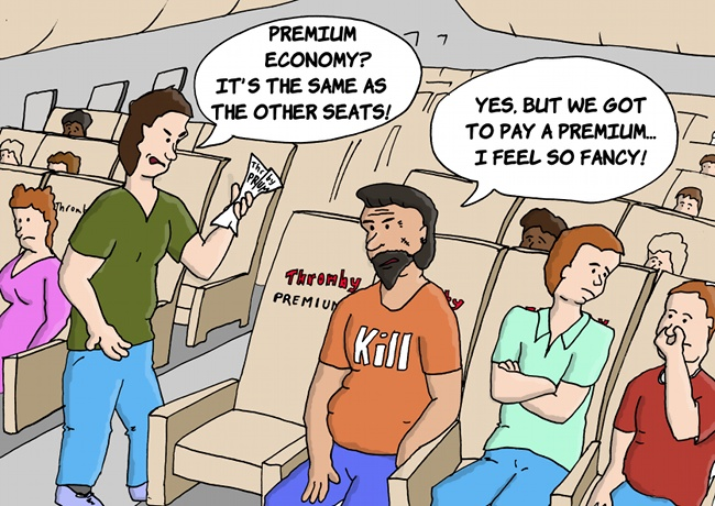 Thromby Air - Premium Economy