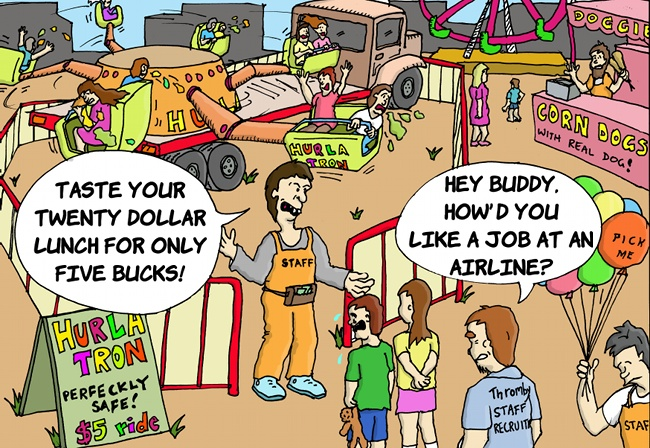 Thromby Air - Aviation Jobs for Carnies!