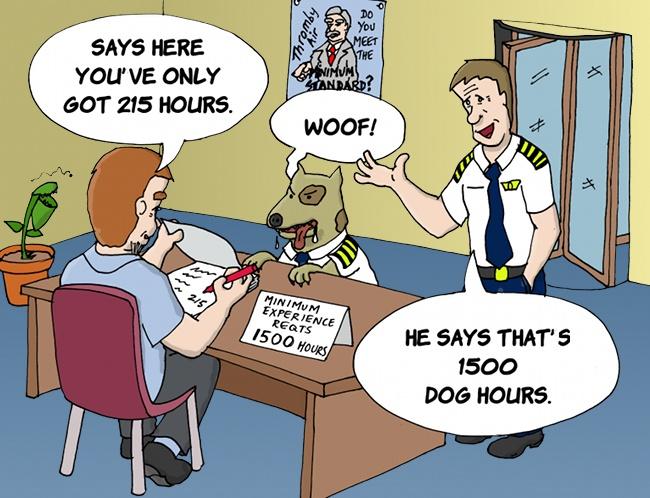 1500 hours Pilot