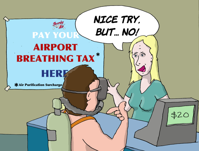 Breathing Tax