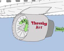Thromby Aerodynamics